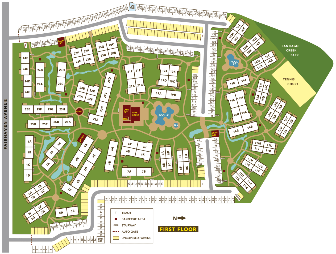 Dogwood site plan